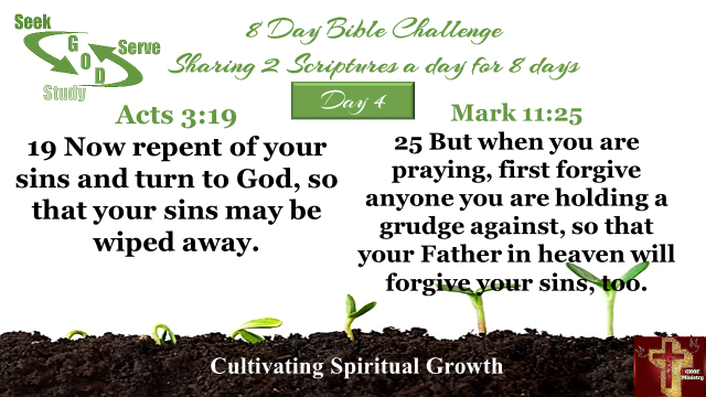 8 day Bible Challange day 4